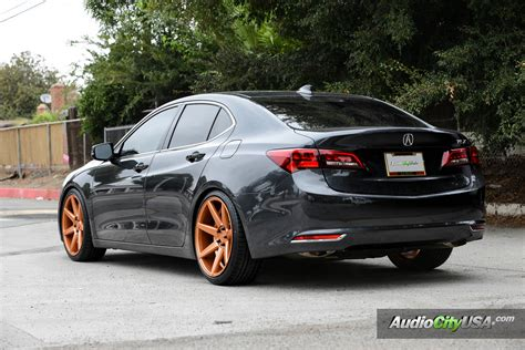 acura tlx lowered  rennen crl autospice