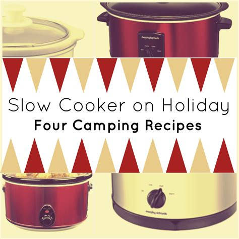 Slow Cooker On Holiday