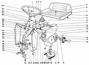 Toro 57051  25 U0026quot  Lawn Tractor  1969  Sn 9000001