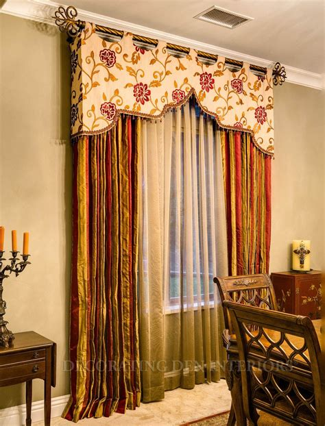 Window Top Treatments by A More Creative Way To Do A Top Treament On A