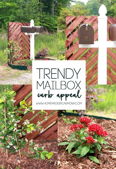 Trendy Mailbox Curb Appeal  Home Made By Carmona
