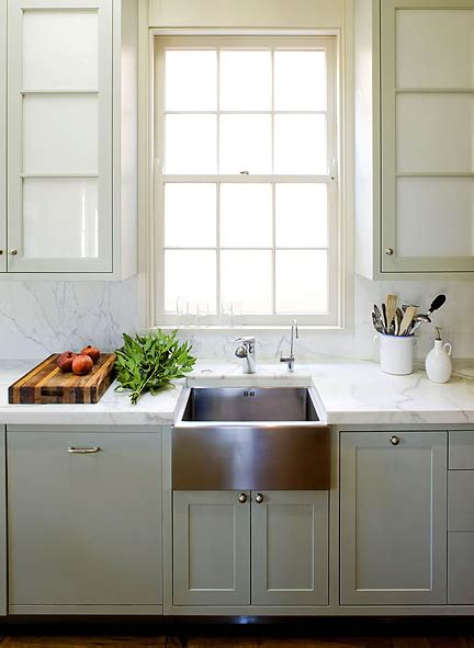 stainless steel apron sink white cabinets stainless steel apron sink contemporary kitchen