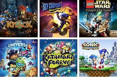 Playstation Games Whole Exclusives Block