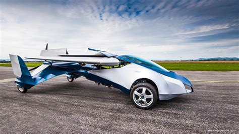 Aeromobil Flying Car Takes To The Skies The Future Is