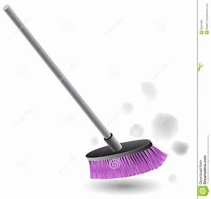 Broom Sweeping Dust Royalty Free Stock Photo - Image: 29421995