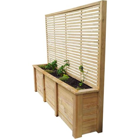 planters with trellis planter trellis combo 2490x1950x500 breswa outdoor furniture