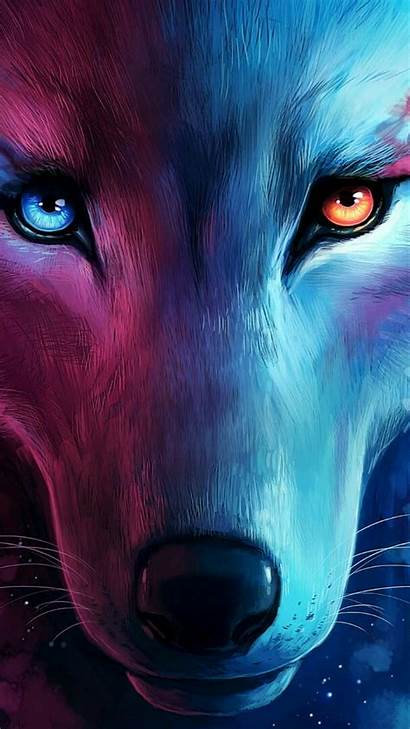 Wolf Cool Fantasy Iphone Eyes Glow Wallpapers