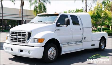 ford  super crewzer hp diesel truck trailer