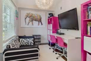 kinderzimmer einrichten ideen coole zimmer ideen für jugendliche und jugendzimmer mödchen kreativ einrichten mit zebra muster