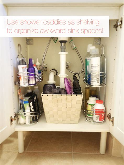 organizing ideas for bathrooms 15 organizational ideas for the bathroom