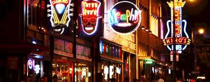 Memphis Street Beale Tennessee Tn Blues Places