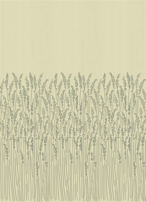 feather grass  farrow ball cream wallpaper