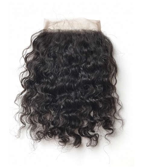 curly brazilian remy human hair lace hair topper