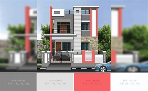 Modern House Exterior Elevation Ideas Pictures Color Combinations by Best Home Exterior Color Combinations And Design Ideas