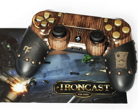 Win A Steampunk Controller With Ironcast Playstation