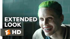 Suicid Squad Joker : suicide squad joker extended look 2016 jared leto movie youtube ~ Medecine-chirurgie-esthetiques.com Avis de Voitures