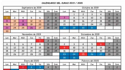 este es el calendario escolar de cantabria el curso