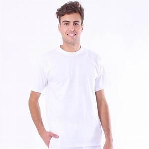 T Shirt Homme Blanc : tee shirt de boulanger blanc t shirt blanc pas cher ~ Melissatoandfro.com Idées de Décoration