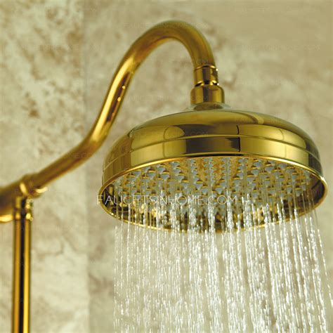 luxury polished brass  bathroom shower head  faucets