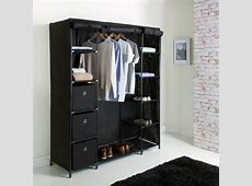 Deluxe Large Canvas Wardrobe Bedroom Furniture, Furniture,