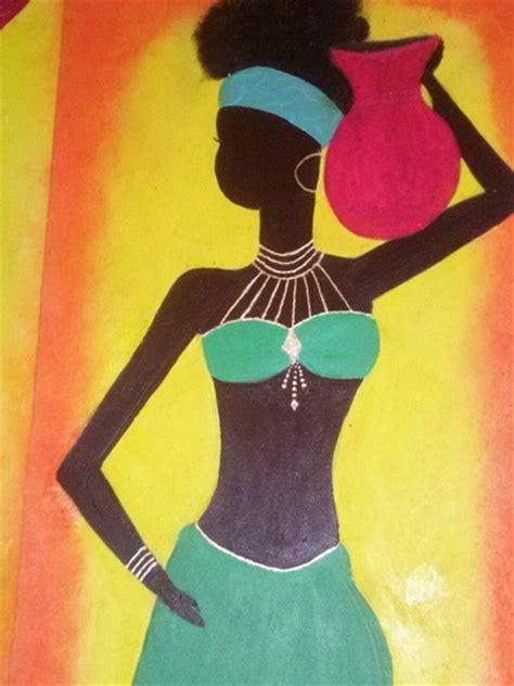 cuadros negras africanas aguscreaciones elo
