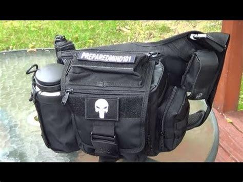 utg multi functional tactical messenger bag youtube