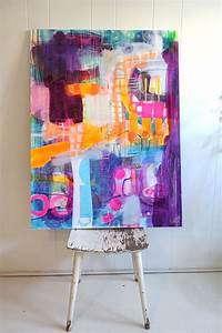 90, Easy, Abstract, Painting, Ideas, That, Look, Totally, Awesome