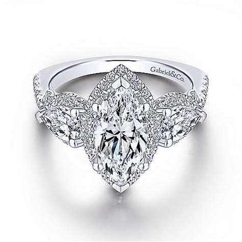marquise engagement rings gabriel co