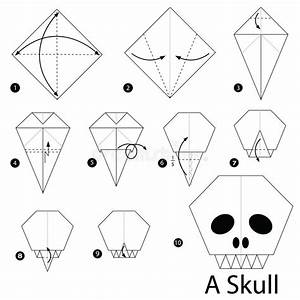 Step By Step Instructions How To Make Origami A Skull