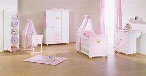 Chambre Bb Princesse En Sapin Massif