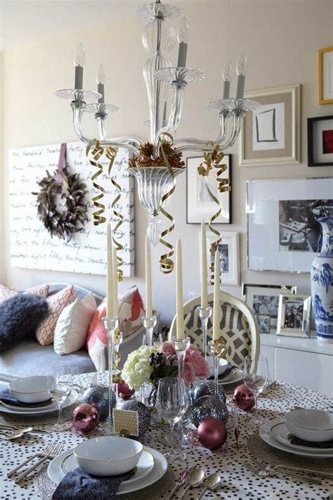 modern christmas table decorations world  pictures