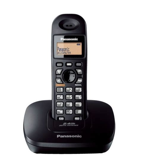 43820 Dual Liner Coupon Code by Snapdeal Panasonic Aa Kx Tg3611 Sxb Cordless Phone Rs 1740