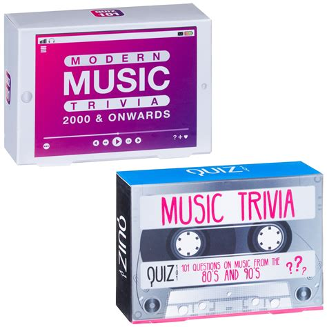 Why not spring it on your relatives at christmas and watch them wither into confusion! Music Trivia Game - 80s & 90s | Novelty Gifts - B&M