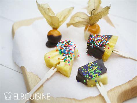 cuisine braun lustige frucht spieße einfacher kinder snackelbcuisine