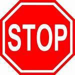 Stop Clipart Transparent Clip Words Svg Signs
