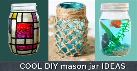 mason jar l diy cool cheap but cool diy wall art ideas for your walls