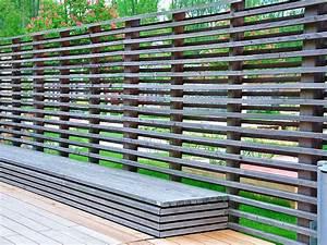 Metallzaun Selber Bauen : sichtschutz zaun dekor ~ Whattoseeinmadrid.com Haus und Dekorationen