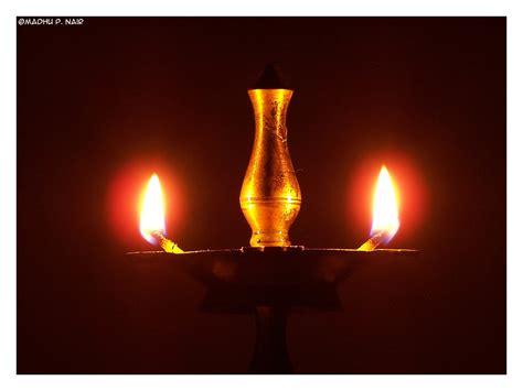 nilavilakku  lighted bell metal lamp called