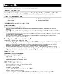 Contemporary Resume by Advanced Resume Templates Resume Genius