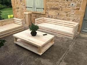 Acheter Meuble En Palette Bois : salon de jardin palette a vendre meuble en beautiful vente ~ Premium-room.com Idées de Décoration
