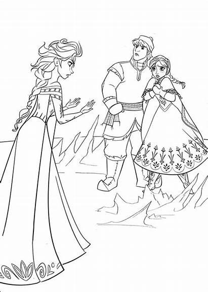 Frozen Colorear Dibujos Hielo Reino