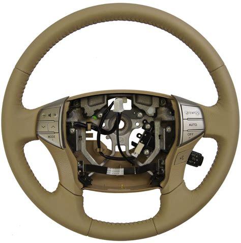 toyota steering wheel 2005 2007 toyota avalon steering wheel ivory tan leather w