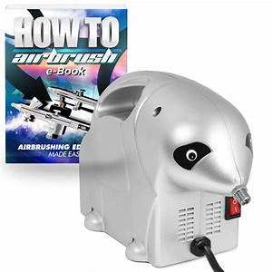 Pointzero 1  8 Hp Airbrush Compressor