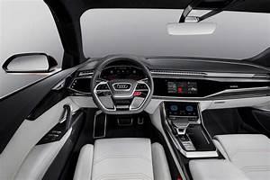 Audi Q8 Interieur : spied 2018 audi q8 and interior caught testing ~ Medecine-chirurgie-esthetiques.com Avis de Voitures