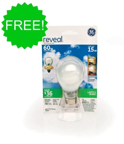 free ge light bulbs with coupon stack