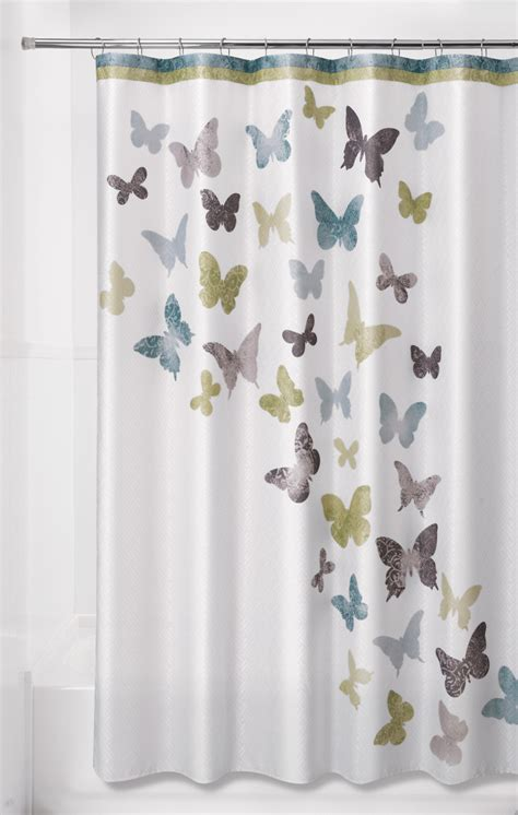 sears shower curtains essential home 70 x 72 quot flight shower curtain