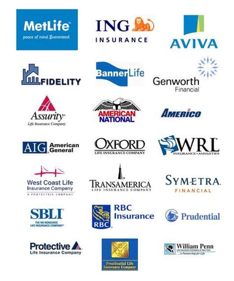 The Companies We Represent - Goldsmith Insurance Agency