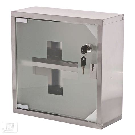 Lockable Medicine Cabinet Home by Update International Mc 125s Locking Aid Cabinet