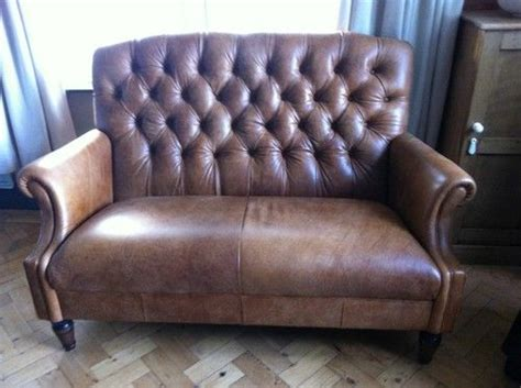 ebay leather sofas laura ashley laura ashley lancaster colorado brown leather small 2