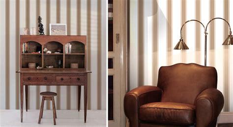 papier peint bureau decoration bureau style anglais kirafes